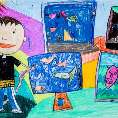Computer Farmer Tate Yu 5歲