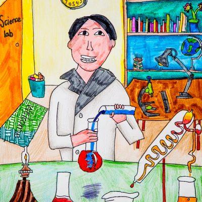 Scientist Rick Chi 7歲