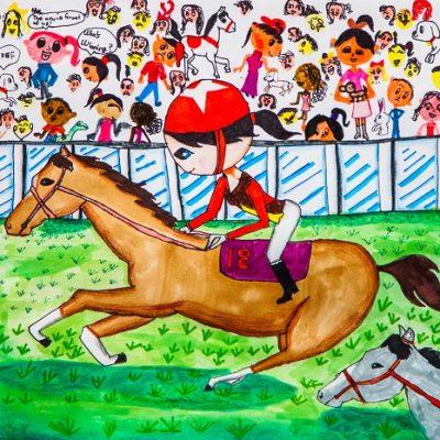 The Great Race Nicole Ying 8歲